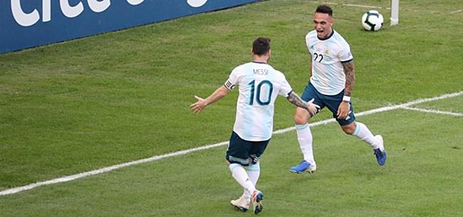 Foto: Ontketende Martínez bezorgt Mexico grote nederlaag
