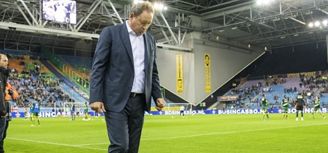 Foto: De Gelderlander onthult: crisisberaad bij Vitesse