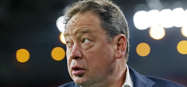 Foto: Vitesse-coach Leonid Slutsky zwaar de klos op Twitter