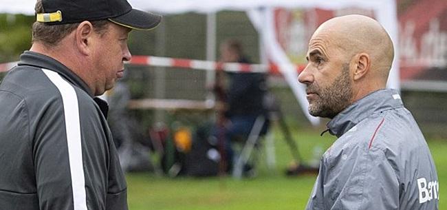 Foto: Bosz 'niet tevreden' na Eredivisie-test: