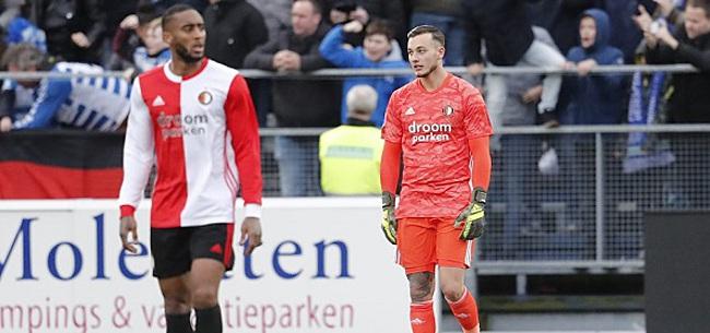 Foto: Feyenoorders fileren één man:
