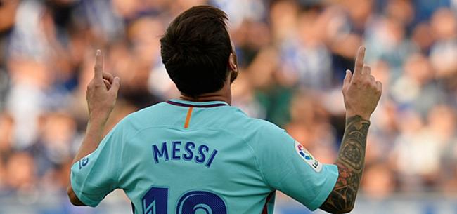 Foto: Messi wijst FC Barcelona de weg tegen Juventus