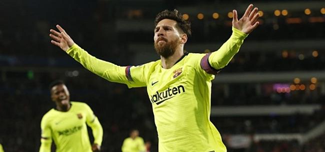Foto: Levende legende uit keiharde kritiek op Messi: 'Hij heeft maar één skill'