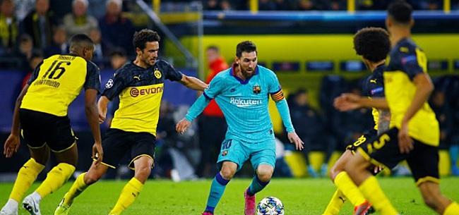 Foto: FC Barcelona ontkomt dankzij gemiste strafschop aan nederlaag bij rentree Messi