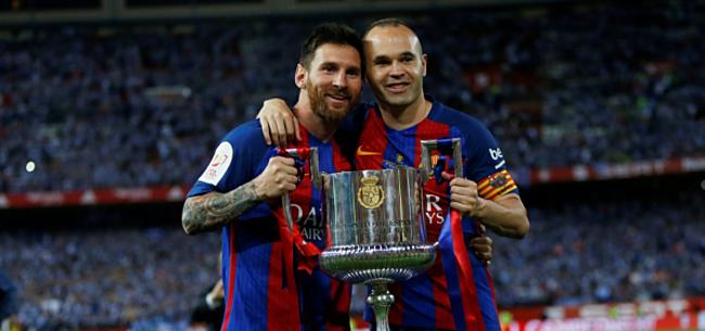 Foto: 'Barcelona wil Iniesta overtuigen met wel heel speciale clausule'