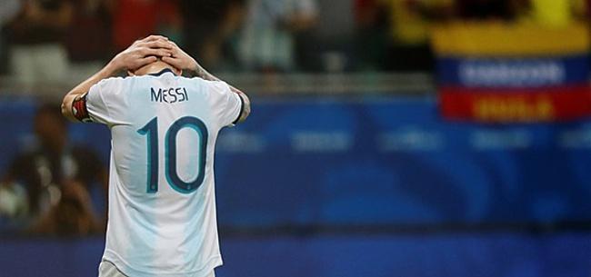 Foto: Lionel Messi zwaar de pineut in Argentijnse media na nieuwe afgang