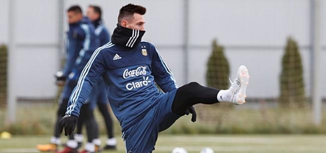 Foto: Treurige boodschap Messi: 'Dit is mijn laatste WK'