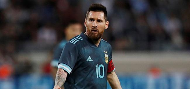 Foto: Cavani en Messi clashen: 'Wil je vechten?'