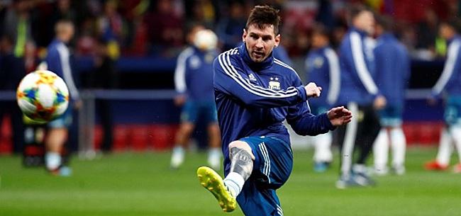 Foto: 'De druk op de schouders van Messi is bijna onmenselijk'