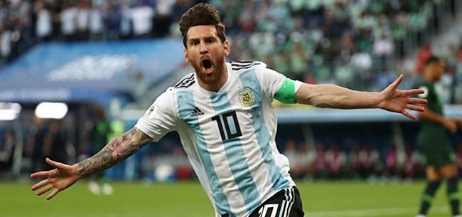 Foto: 'Natuurlijk kan Messi nog wereldkampioen worden'