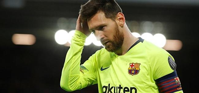 Foto: Messi spreekt zijn steun uit:
