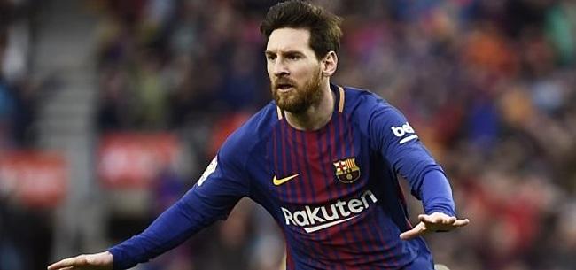 Foto: Messi wint ook Gouden Schoen voor de vijfde keer