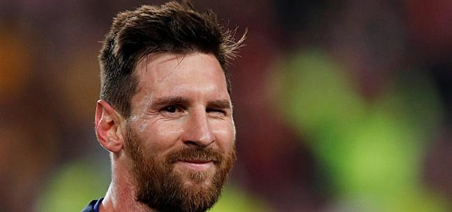 Foto: 'Messi eist knaltransfer: Barcelona broedt op spectaculair plan'