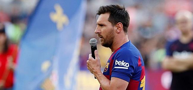 Foto: 'Contractsituatie Messi stuk zorgelijker dan gedacht'