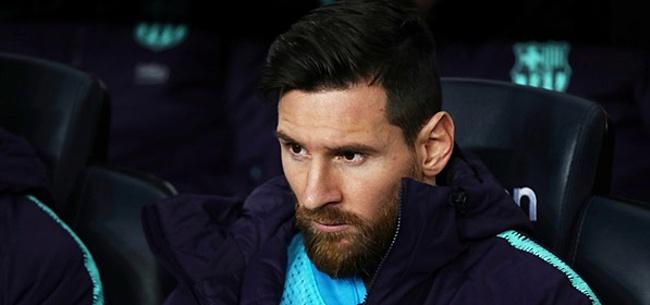 Foto: Lyon-preses provoceert Messi: 'Ronaldo daarentegen...'