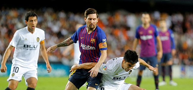 Foto: Spraakmakende transfer Messi?