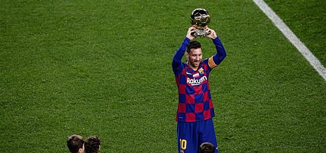 Foto: Ballon d'Or-winnaar Messi blinkt uit met hattrick