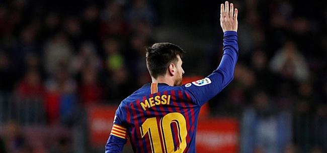 Foto: 'Messi denkt serieus na over Amerikaanse MLS'