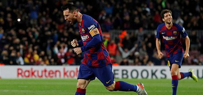 Foto: Grote Lionel Messi-show levert Barcelona overwinning op