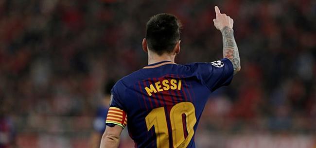 Foto: La Liga-preses spreekt zich uit over contract Messi