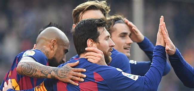 Foto: 'Bom barst in Barcelona: Messi krijgt slaande ruzie'