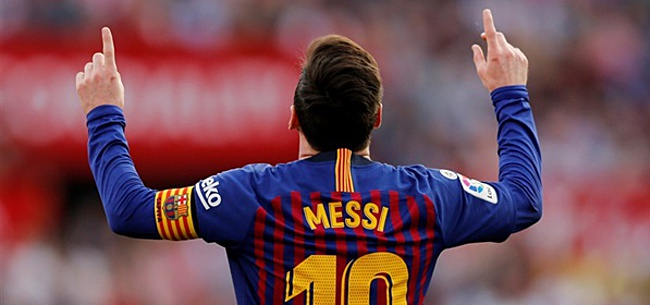 Foto: Lionel Messi vertelt wat hij van Ajax vindt: