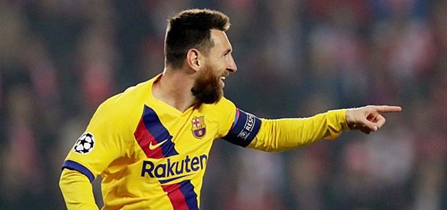 Foto: 'Messi krijgt hele opmerkelijke voorkeursbehandeling om thuis in rust te leven'