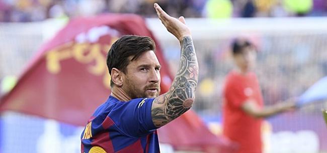 Foto: 'FC Barcelona moet Messi missen in cruciale wedstrijden'