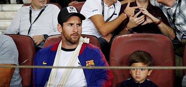 Foto: FC Barcelona verrast vriend en vijand met prachtig Messi-nieuws