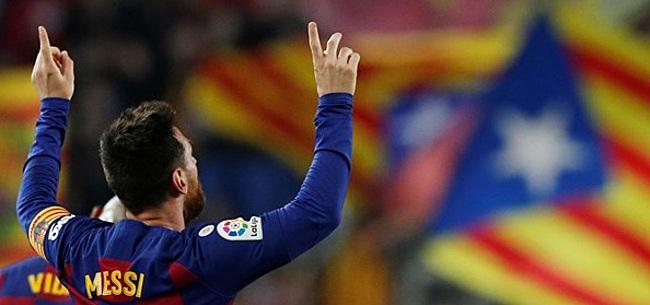 Foto: 'Messi weigert in te gaan op gigantisch aanbod Barcelona'