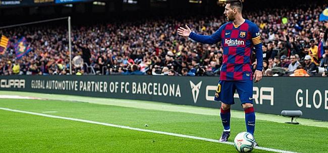 Foto: Messi over ploeggenoot: 'Het is niet normaal om die druk bij hem neer te leggen'