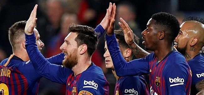 Foto: Barcelona komt met slecht blessurenieuws: CL-kwartfinale in gevaar