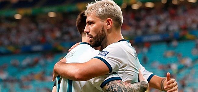 Foto: Sergio Agüero: 'Dán zal Messi FC Barcelona verlaten'