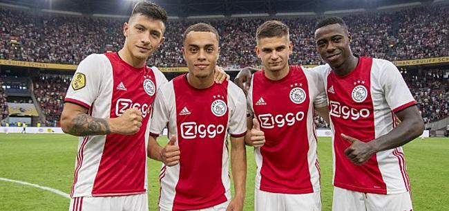 Foto: 'Ajax maakt grote fout met zomeraanwinst'