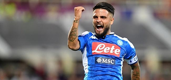 Foto: Insigne beslist voetbalfeest in het voordeel van Napoli