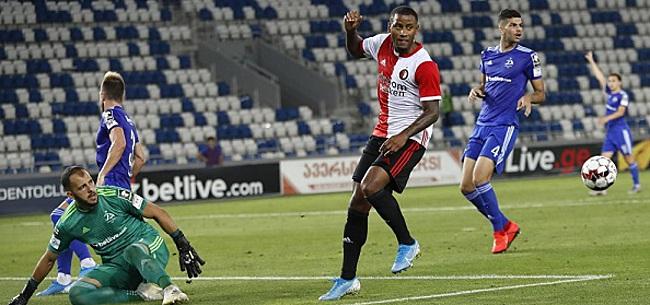 Foto: Feyenoord vergeet extra UEFA-punten te scoren: