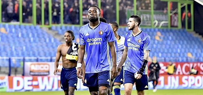 Foto: Feyenoord-fans zien groot probleem: 'Maakt niet uit voor wie'
