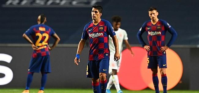 Foto: 'Luis Suárez na blamage buitenkansje voor Ajax'