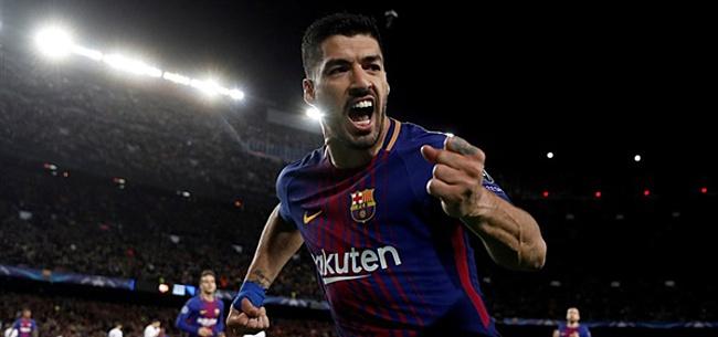 Foto: Herstelde Suarez bezorgt FC Barcelona 'extra versterking'