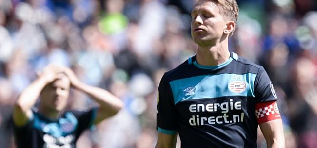 Foto: Luuk de Jong doet PSV-supporters een belofte