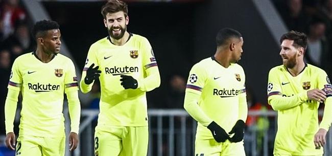 Foto: Wéér blessure bij FC Barcelona: 'Dat is zorgelijk'