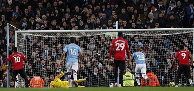 Foto: United doet City veel pijn in Manchester Derby