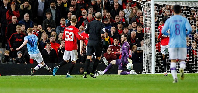 Foto: City speelt met United en koerst af op League Cup-finale