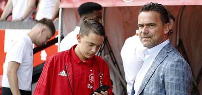 Foto: 'Feyenoord-opponent kan loopbaan voortzetten bij Ajax'