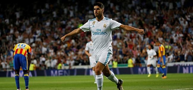 Foto: Asensio blinkt uit bij ruime bekertriomf Real Madrid