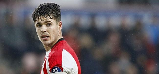Foto: PSV opnieuw zonder steunpilaar