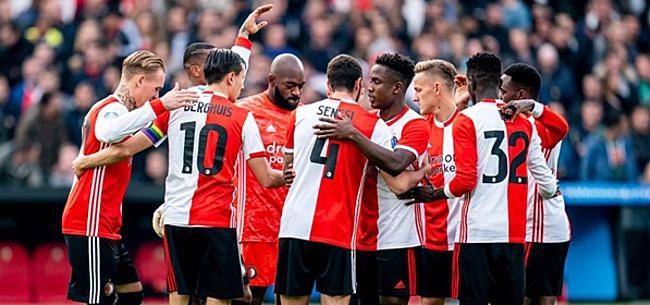 Foto: 'Arme Feyenoorder ritueel geslacht op televisie'
