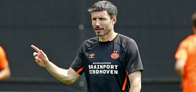 Foto: Eerste training PSV, Van Bommel irriteert zich gelijk: