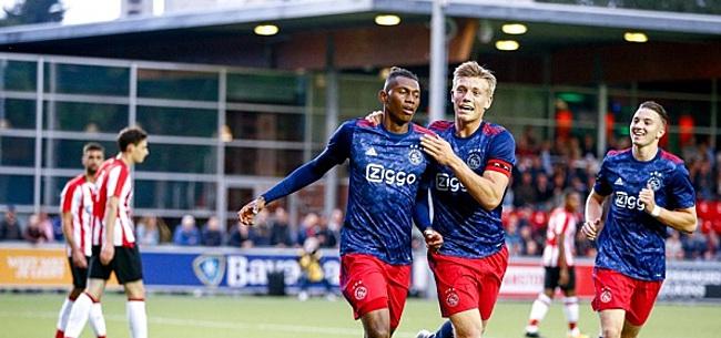Foto: VIDEO: Cassierra maakt heerlijke goal bij Jong Ajax