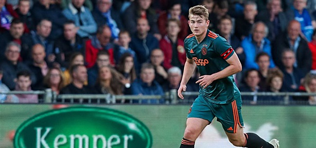 Foto: De Ligt reageert: 'Of ik ooit terug ga keren bij Ajax?'